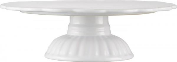 Tortenplatte - Weiß