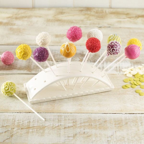 Cake Pop Butler - Halter für 14 CakePops, Keramik
