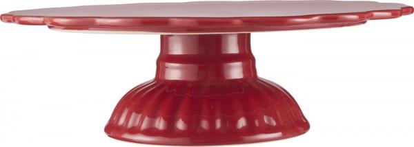 Tortenplatte - Rot