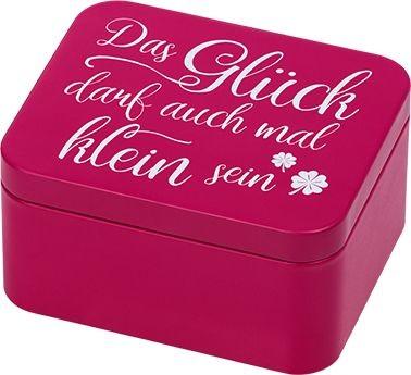 Geschenkbox Pink