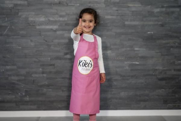 Kikis Kinderschürze Pink