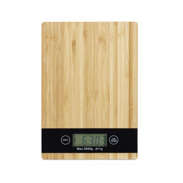 NEU: Digitale Küchenwaage - Bambus