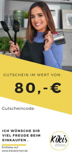 Geschenk Gutschein 80 Euro