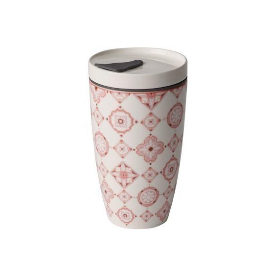 Coffee To Go Becher aus Premium Porcelain - ROSE