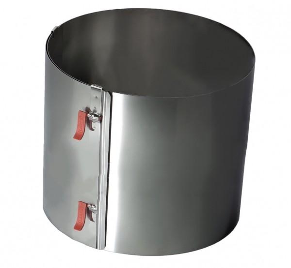 Tortenring XXL mit zwei Klemmhebel Höhe 20cm